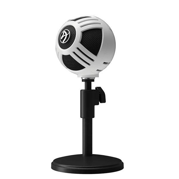 Mikrofón Arozzi Sfera, white