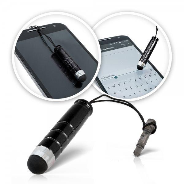 Mini dotykové pero - Stylus pre kapacitné displeje, Black
