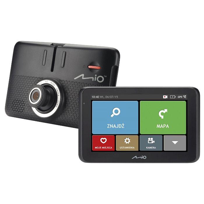 Mio MiVue Drive 50LM - Navigácia + HD kamera do auta + Pamäťová karta 16 GB - Refurbished