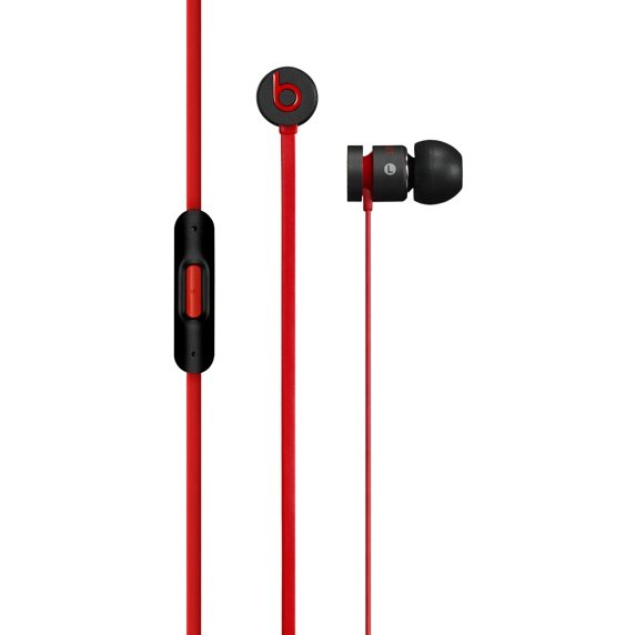 Monster Urbeats 2 by DR.Dre - k�blov� Headset, Black/Red (MHD02ZM/A)
