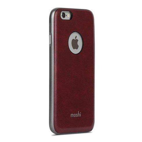 Moshi kryt iGlaze Napa pre iPhone 6/6s - Burgundy Red 99MO079321