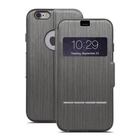 Moshi puzdro SenseCover pre iPhone 6 Plus/6s Plus - Steel Black 99MO072304