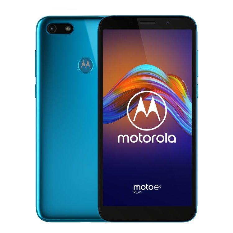 Motorola Moto E6 Play, Dual SIM, Tranquil Teal - SK distribúcia