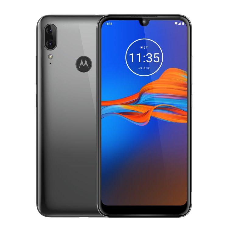 Motorola Moto E6 Plus, 4/64GB, Dual SIM, Gunmetal - SK distribúcia