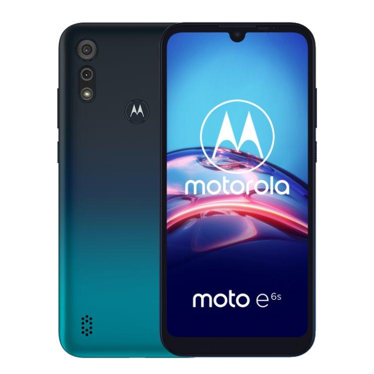 Motorola Moto E6s, Dual SIM, Peacock Blue - SK distribúcia