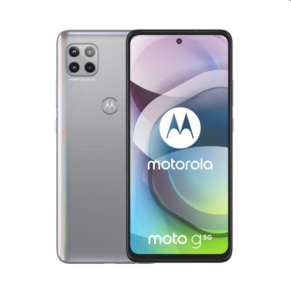 Motorola Moto G 5G, Dual SIM, silver - SK distribúcia