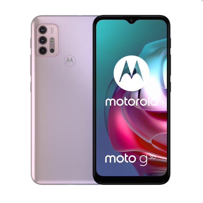 Motorola Moto G30, 6/128GB, Pastel Sky - SK distribúcia