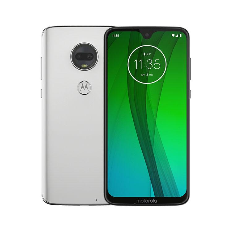 Motorola Moto G7, Dual SIM, Clear White - SK distribúcia