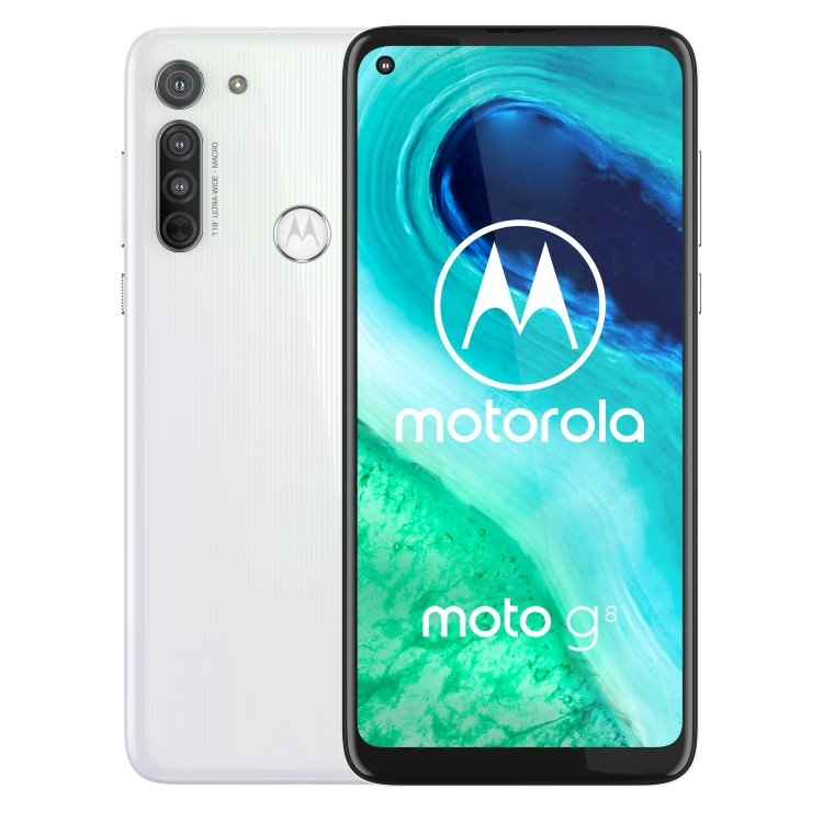Motorola Moto G8, Dual SIM, Pearl White - SK distribúcia