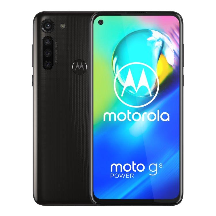 Motorola Moto G8 Power, Dual SIM, Smoke Black - SK distribúcia