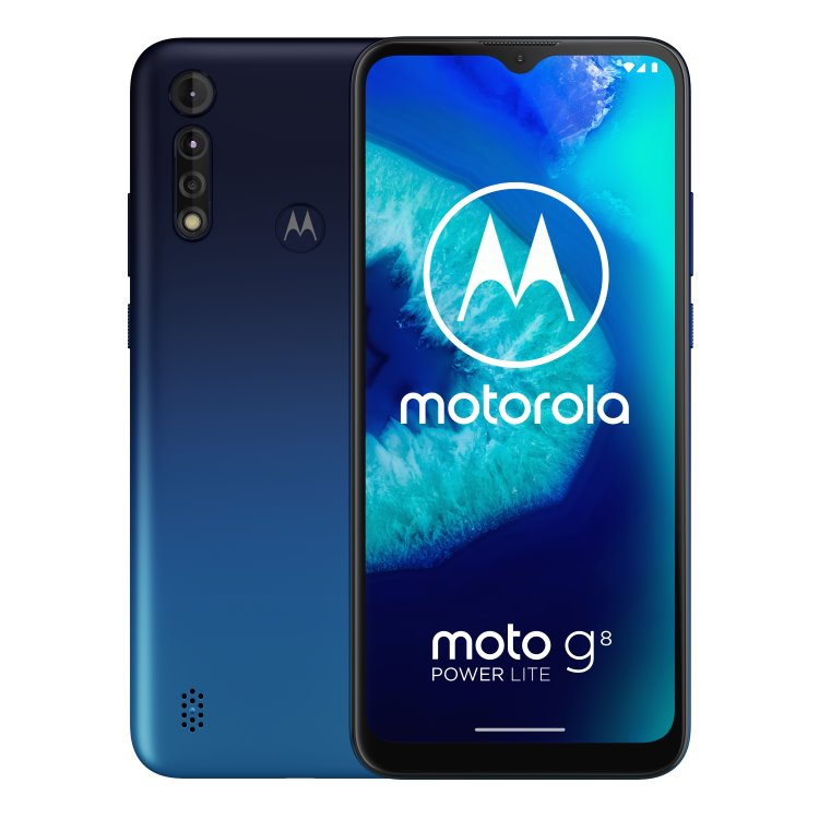Motorola Moto G8 Power Lite, Dual SIM, Galaxy Blue - SK distribúcia