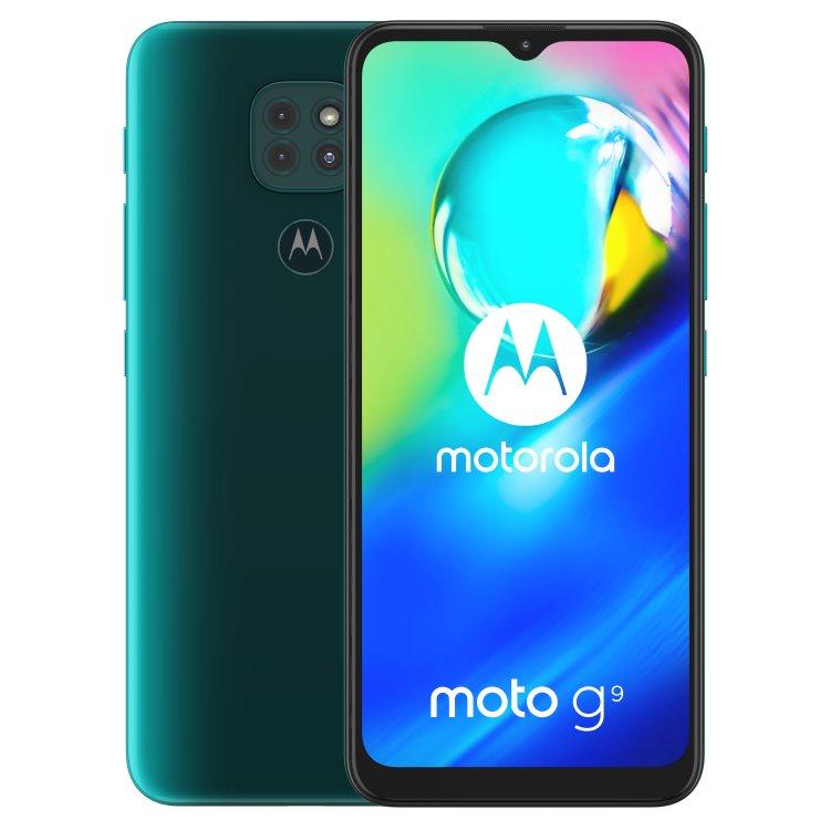 Motorola Moto G9 Play, 4/64GB, Dual SIM, Forest Green - SK distribúcia + Moto Buds v hodnote 99€