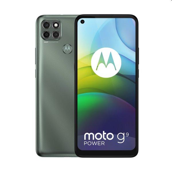 Motorola Moto G9 Power, Dual SIM, gray - SK distribúcia