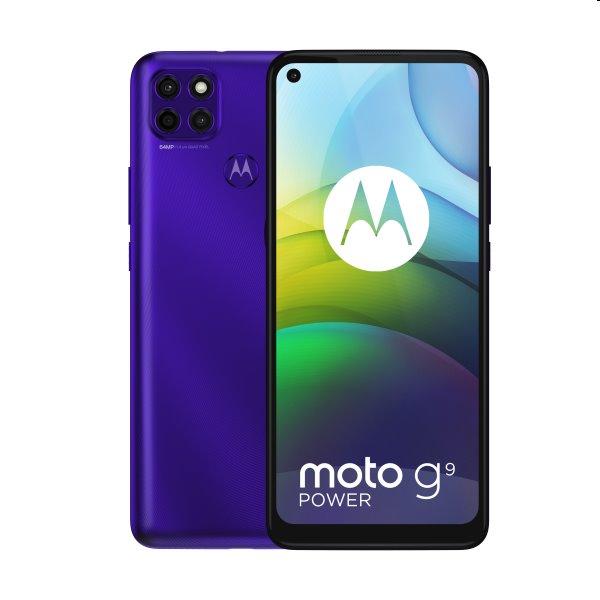 Motorola Moto G9 Power, Dual SIM, violet - SK distribúcia