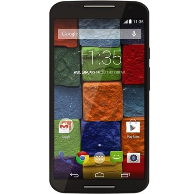 Motorola Moto X 2014 2gen - XT1092, Black Leather
