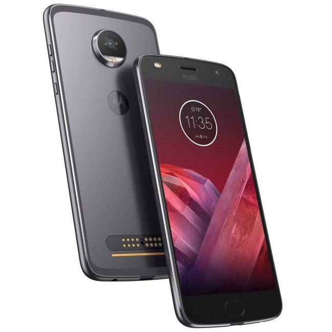 Motorola Moto Z2 Play, 64GB, Single SIM | Grey, Trieda A - použité, záruka 12 mesiacov