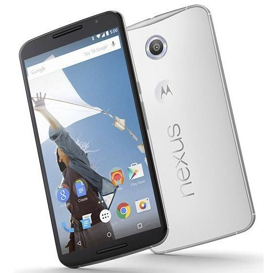 Motorola Nexus 6 - XT1100, Cloud White - SK distrib�cia