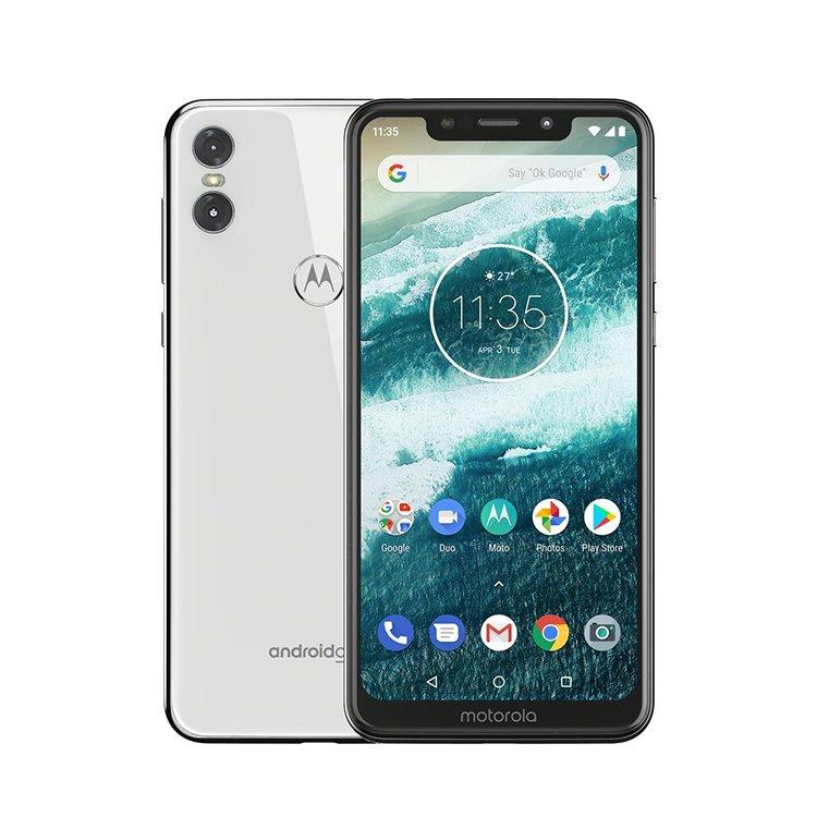 Motorola One, 4/64GB, Dual SIM | White - nový tovar, neotvorené balenie