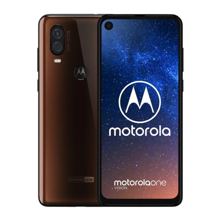 Motorola One Vision, 4/128GB, Dual SIM, Bronze - SK distribúcia
