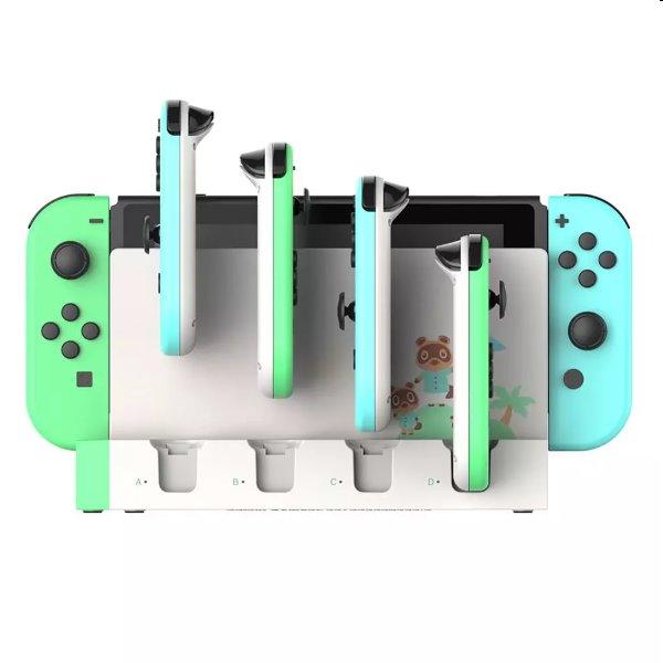 Nabíjacia stanica iPega 9186A pre Nintendo Switch Joy-con, white