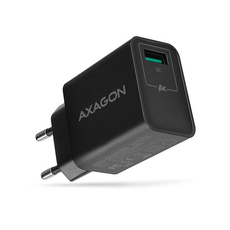 Nabíjačka AXAGON ACU-QC QuickCharge 3.0 - 19W, Black ACU-QC
