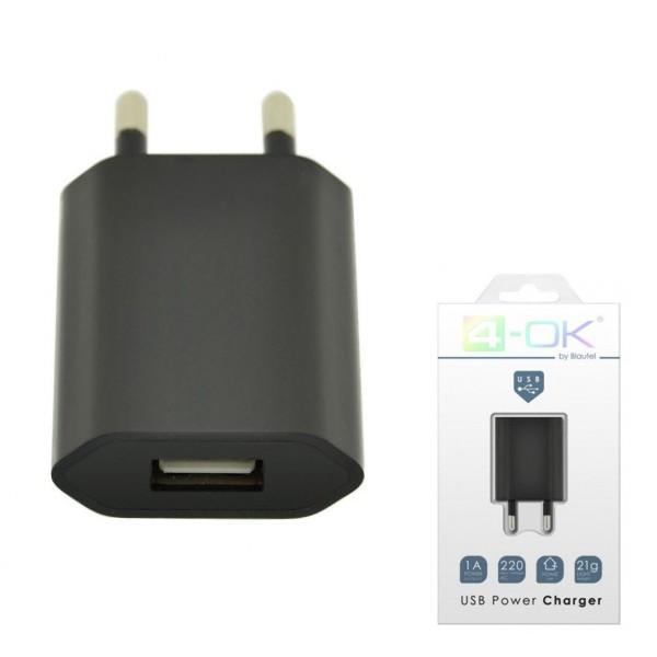 Nabíjačka Travel - home charger pre Váš smartfón - USB, 220V - 1AMP