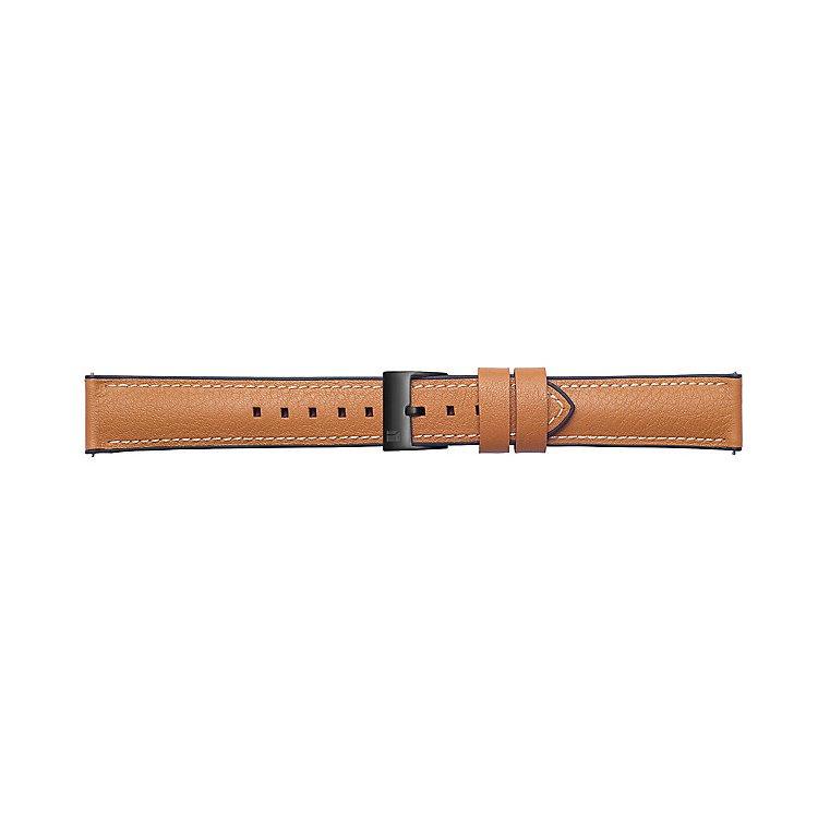 Náhradný kožený remienok Samsung Braloba Urban GP-R805B (22mm) pre Samsung Galaxy Watch SM-R800, Tan