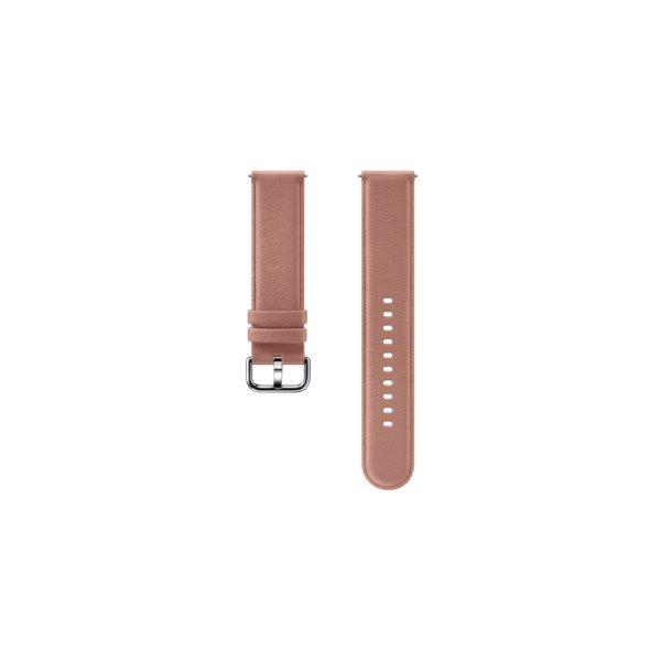 Náhradný kožený remienok Samsung ET-SLR82M (20mm) pre Samsung Galaxy Watch Active 2, Pink