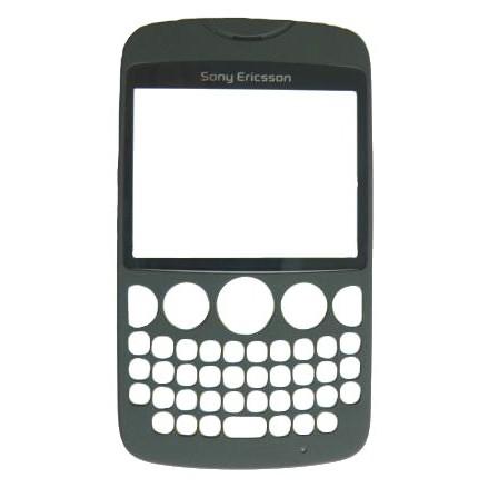 Náhradný predný kryt pre Sony Ericsson TXT CK13, Black