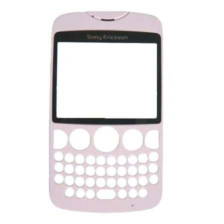Náhradný predný kryt pre Sony Ericsson TXT CK13, Pink