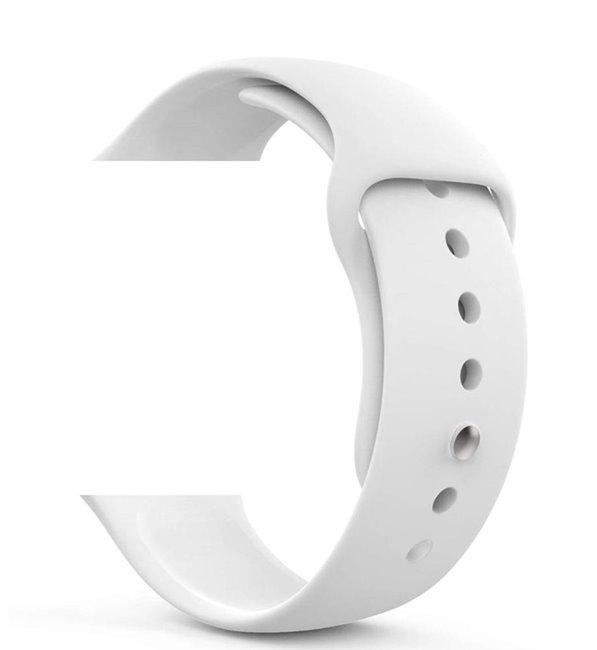 Náhradný remienok pre Apple Watch Series 2/3/4, 38/40mm, white