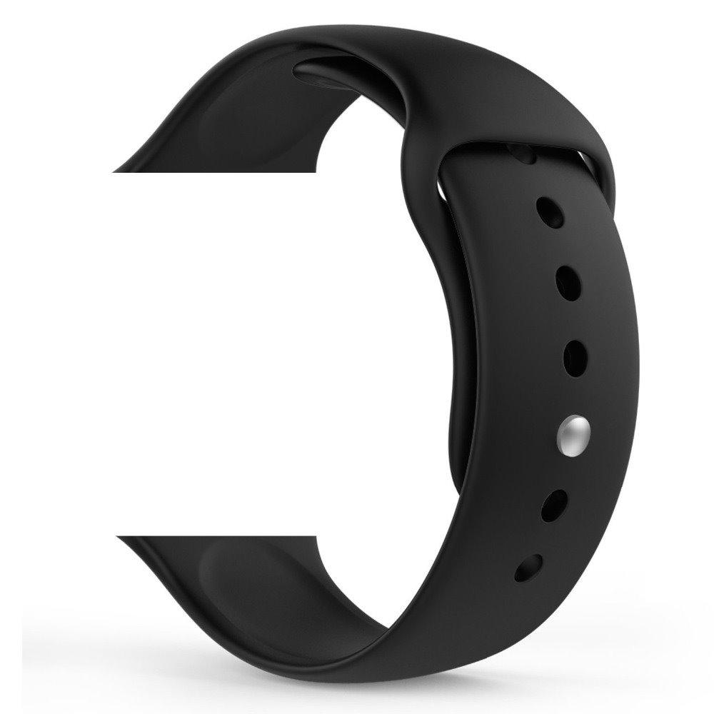 Náhradný remienok čierny pre Apple Watch 42/44mm
