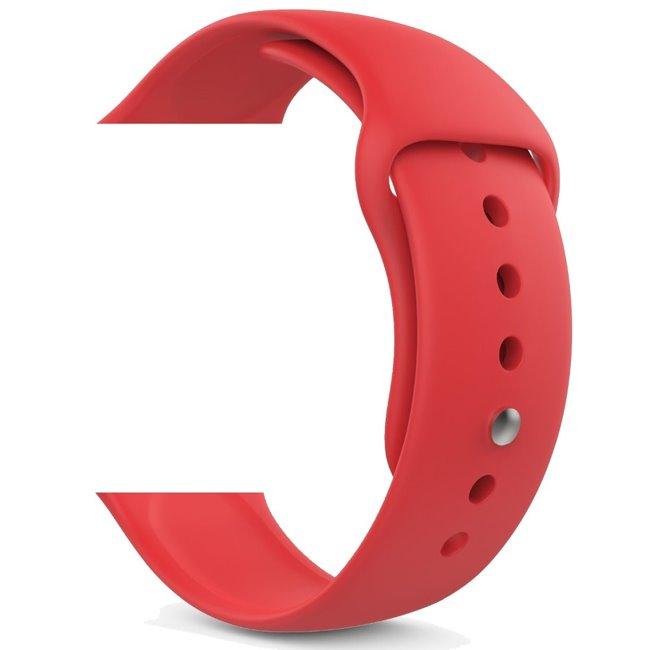 Náhradný remienok pre Apple Watch 42/44mm, red