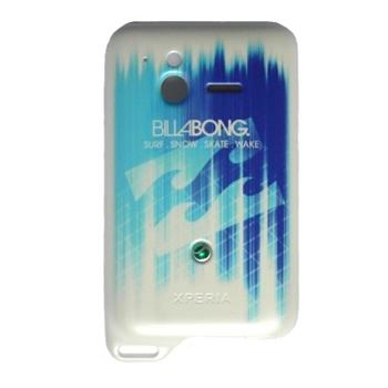 N�hradn� zadn� kryt pre Sony Ericsson Xperia Active ST17, BillaBong Edition White Blue