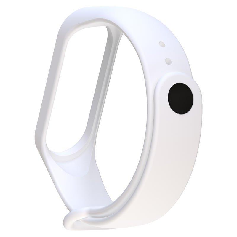 Biely náramok pre Xiaomi MiBand 3 a 4