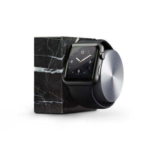 Native Union Dock - dr�iak pre Apple Watch, Marble Black
