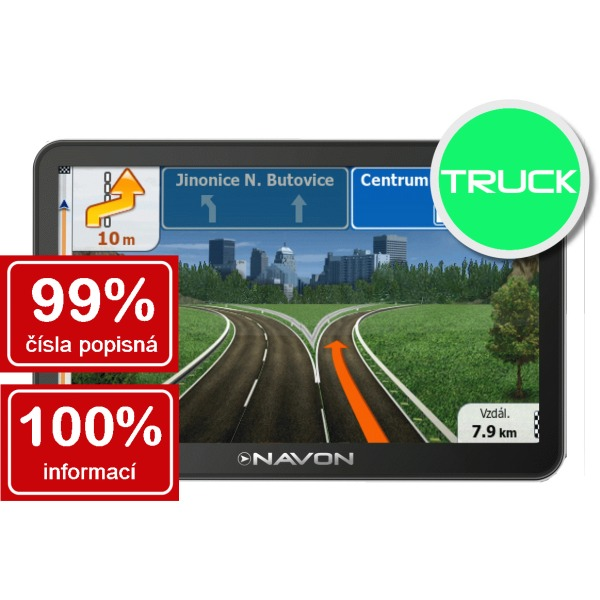 Navon N760 Plus Truck - mapy 45 �t�tov