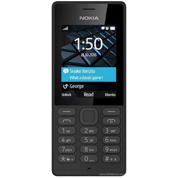 Nokia 150, Dual SIM, Black - SK distribúcia