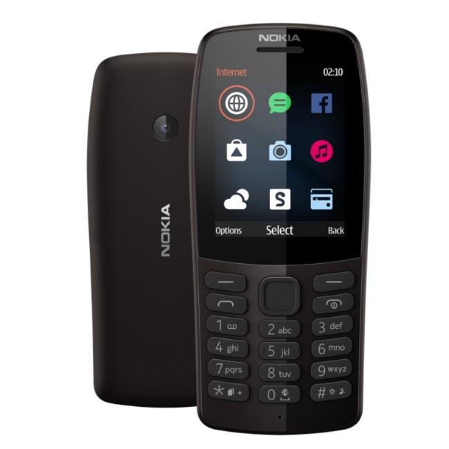 Nokia 210, Dual SIM, black