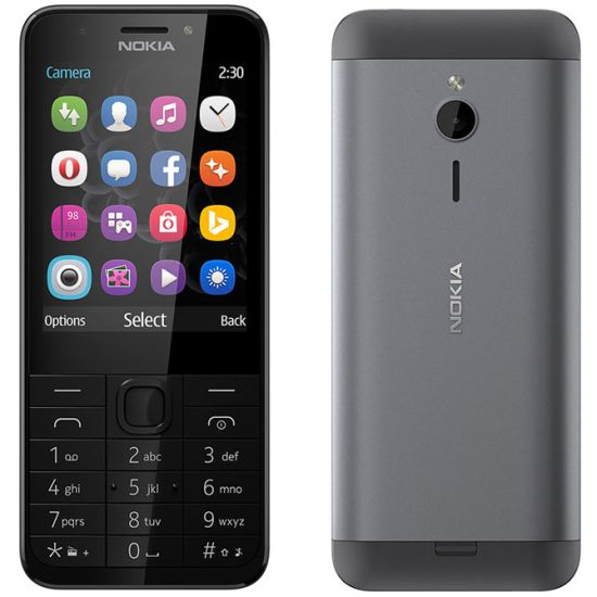 Nokia 230, Dark Silver - SK distribúcia
