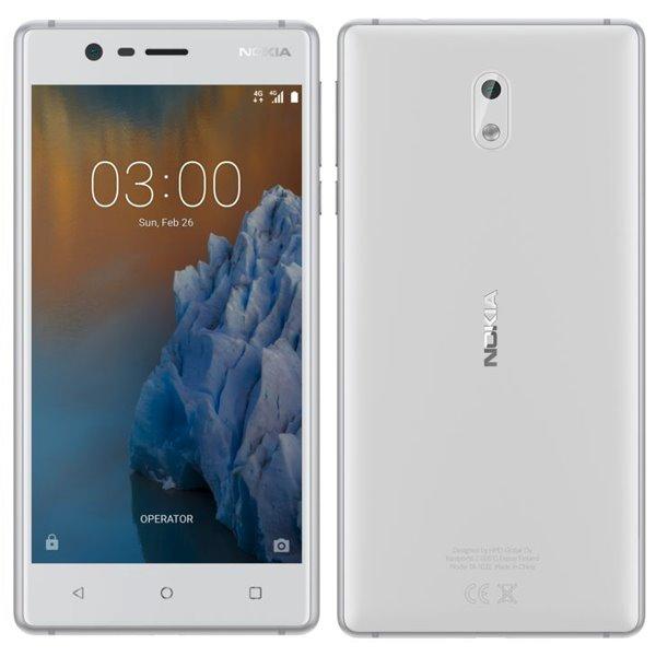 Nokia 3, Dual SIM, White - SK distribúcia
