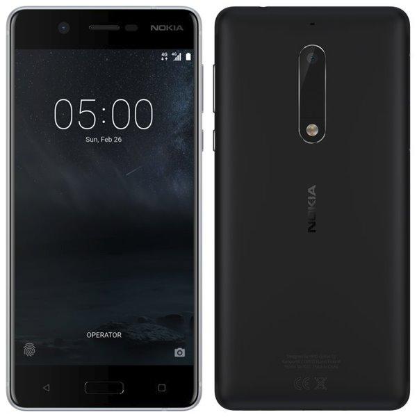 Nokia 5, Dual SIM, Black - SK distribúcia