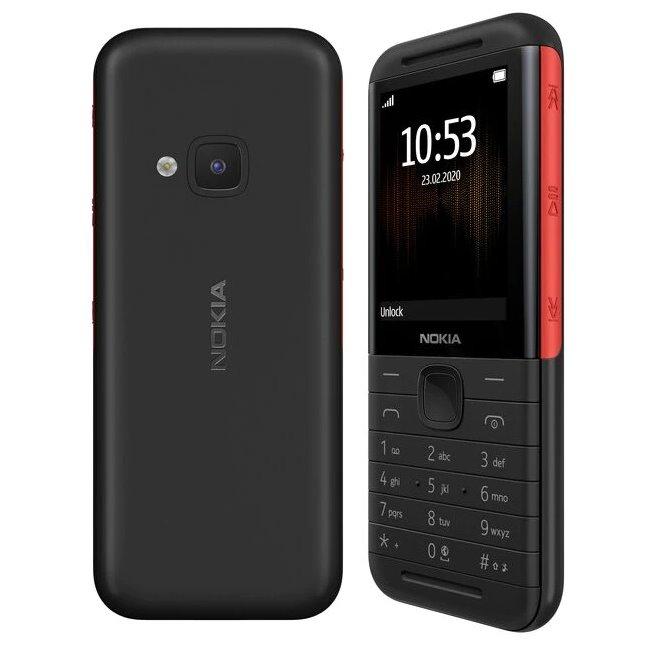 Nokia 5310, Dual SIM, Black/Red - SK distribúcia