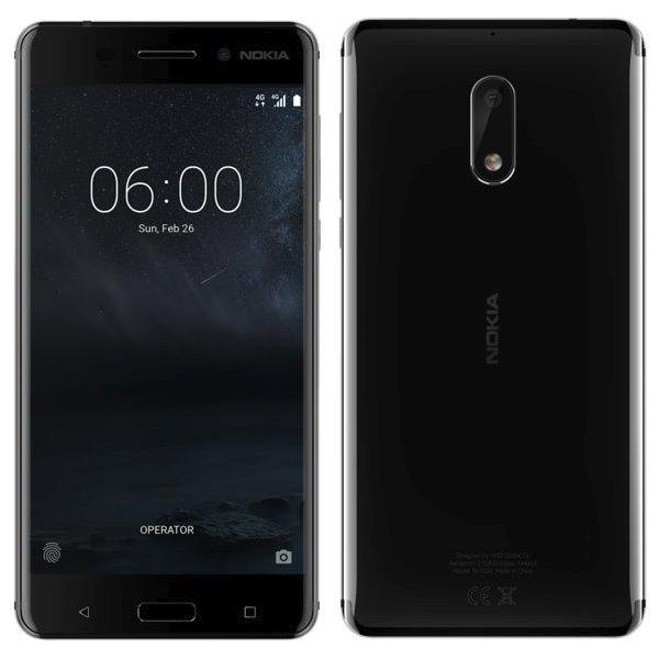 Nokia 6, Dual SIM, 32GB, Black - SK distribúcia