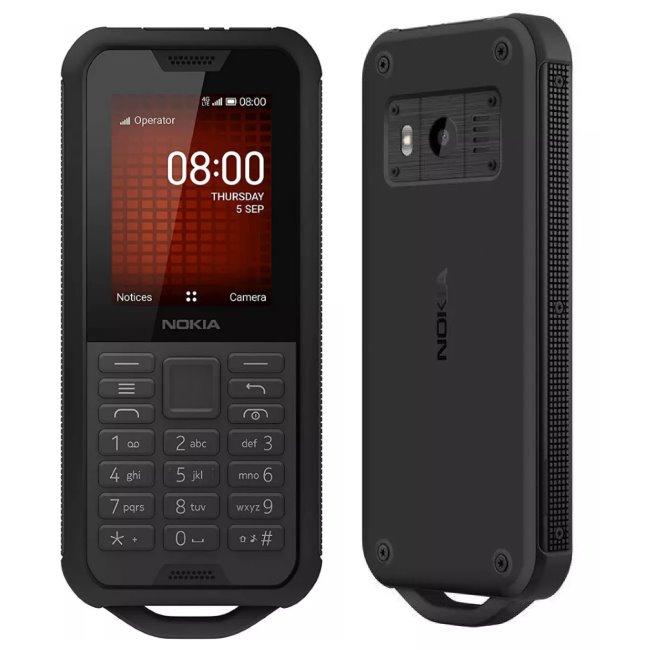 Nokia 800 Tough, Dual SIM, Black - SK distribúcia