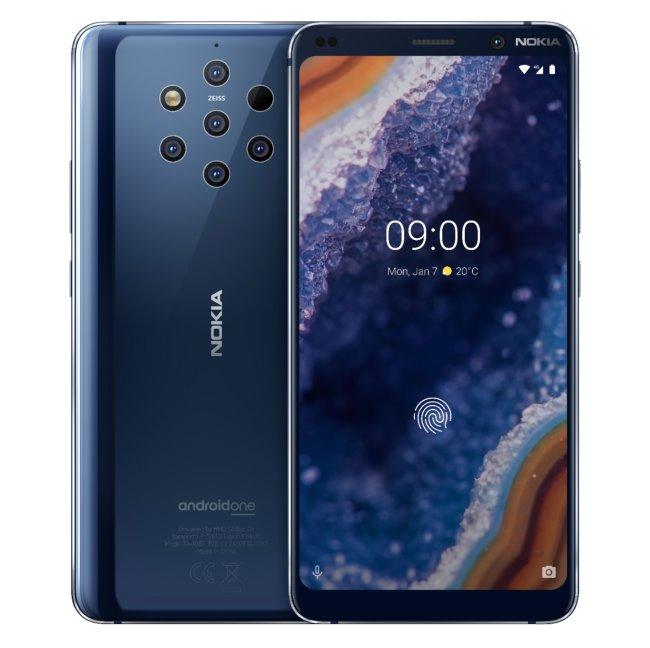 Nokia 9 Pureview, Dual Sim, Blue