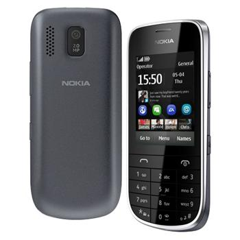 Nokia Asha 203, Dark Grey