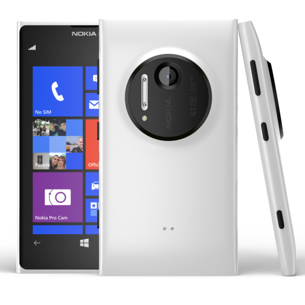 Nokia Lumia 1020, WindowsPhone 8, White - SK distrib�cia