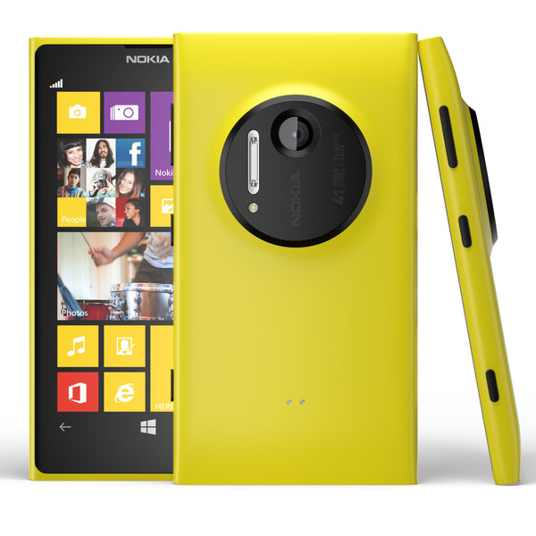 Nokia Lumia 1020, WindowsPhone 8, Yellow - SK distrib�cia