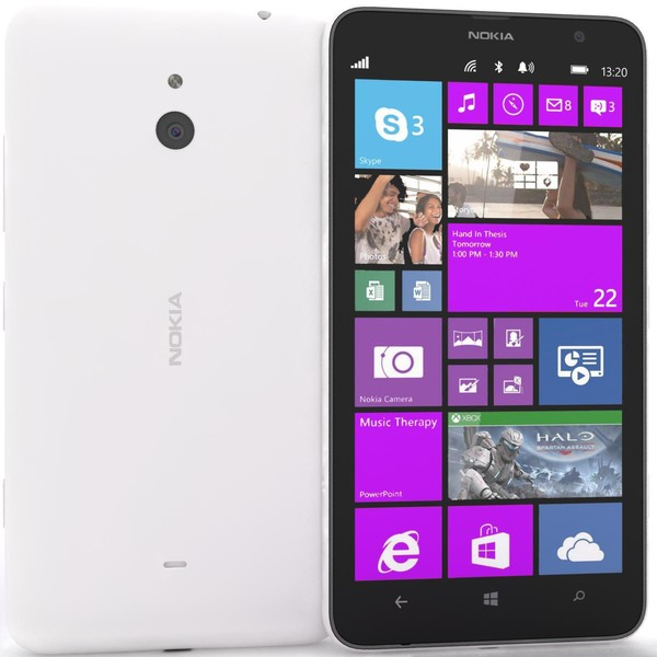 Nokia Lumia 1320, WindowsPhone 8, White - SK distrib�cia